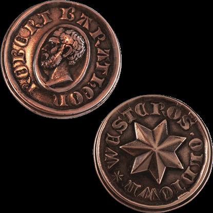 Copper Star of King Robert Baratheon