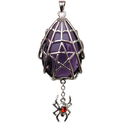 Spyder Star Crystal Keeper Necklace
