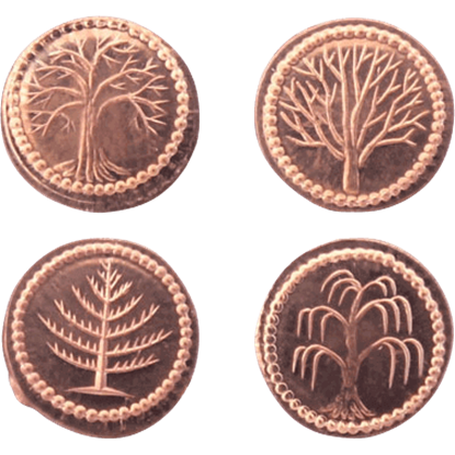 Hobbit Farthing Set