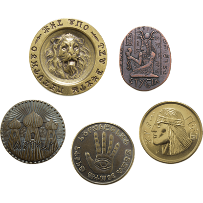 Conan Deluxe Set of Five Hyborian Coins