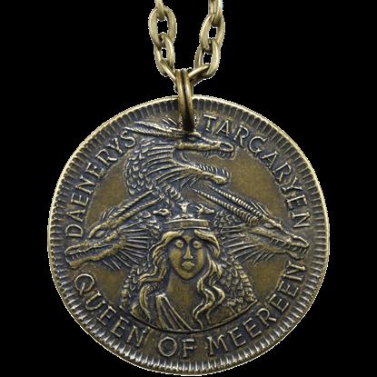 Daenerys Targaryen Meereen Coin Necklace