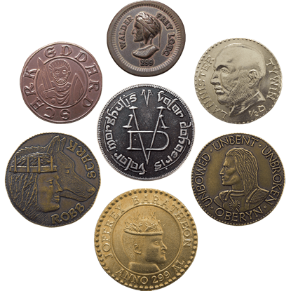 Game of Thrones Dead Men Coins