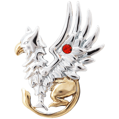 Griffin's Gift Necklace by Anne Stokes