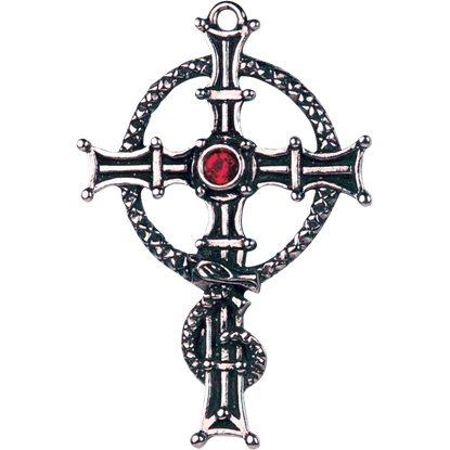 Gothic Cross of Fearlessness Necklace