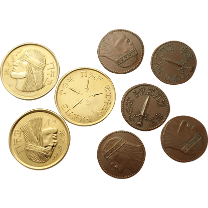 Conan Eight Piece Aquilonian Coin Set