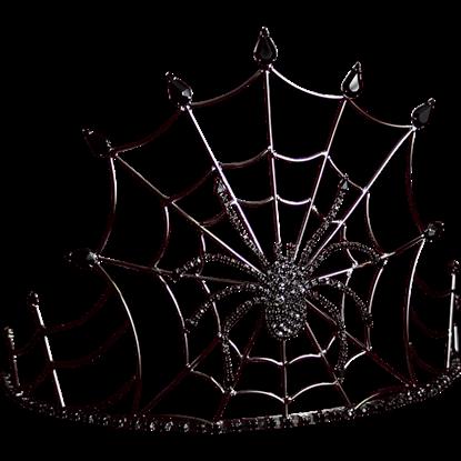 Gothic Queen Spider Crown