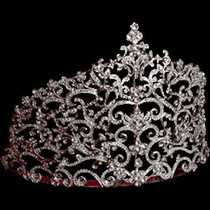 Extravagant Crystal Tiara