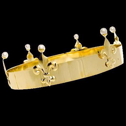 Mens Classic Fleur Crown