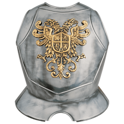 Steel Breastplate with Double Eagle Crest