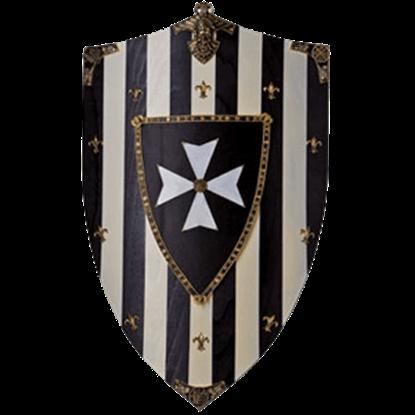 Hospitaliers Knights Wooden Shield