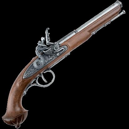 18th Century Antique Gray Flintlock Pistol