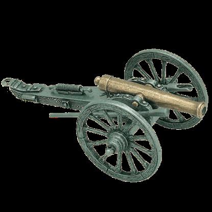 Brass Mini US Civil War Cannon 1861