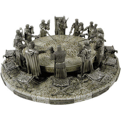 Entire Knights Of The Round Table Set
