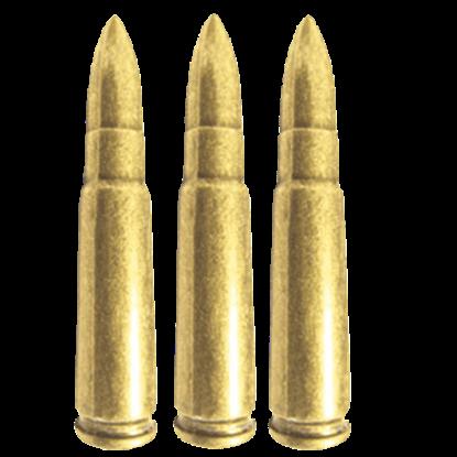 Replica AK-47 Bullets - Package of 6