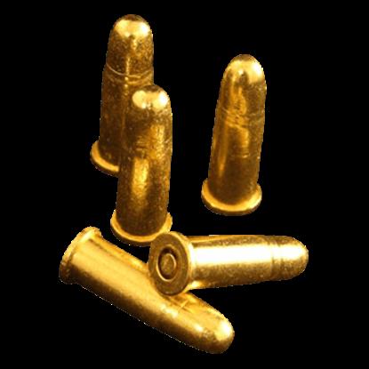 Brass Replica Bullets - Package of 6