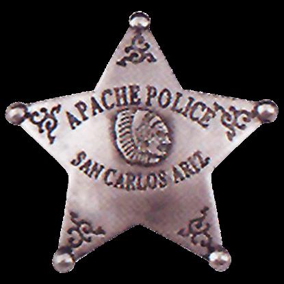 Apache Police Badge