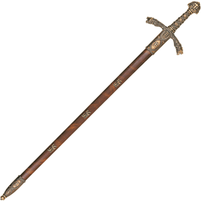 Brass Richard the Lionheart Sword