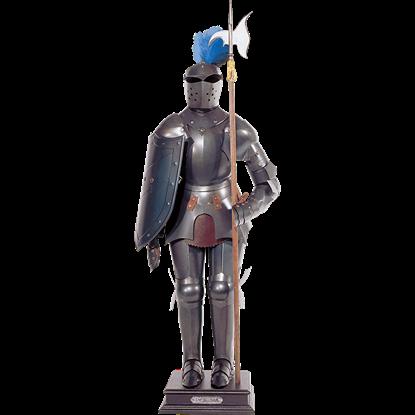 Dark Steel Miniature Suit of Armour
