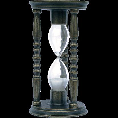 Bronze Old World Hourglass