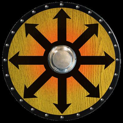 Wooden Viking Berserker Shield (Chaos Arrows)
