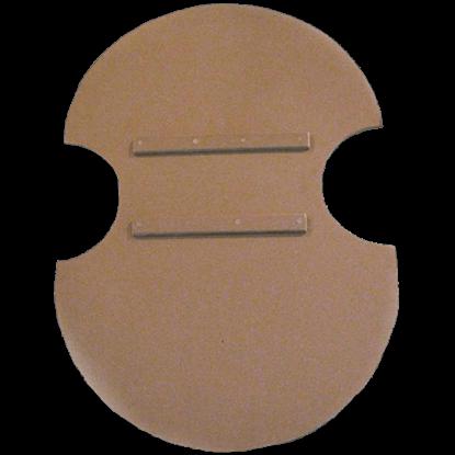 Wooden Blank Unpainted Greek Shield