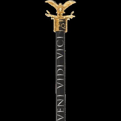 Golden Roman Eagle Pencil Topper