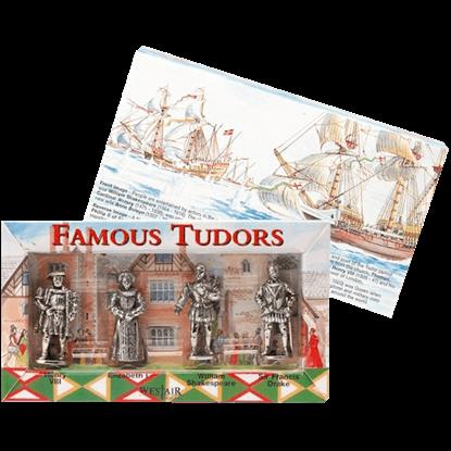 Set Of Four Tudor Figures