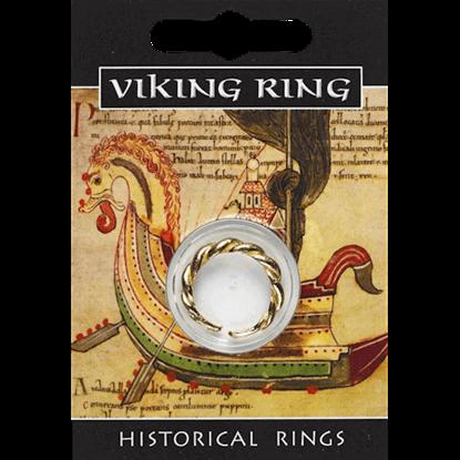 Golden Viking Twist Ring