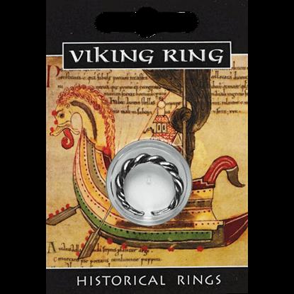 Pewter Viking Twist Ring