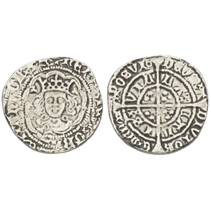 Henry VI Halfgroat Replica Coins