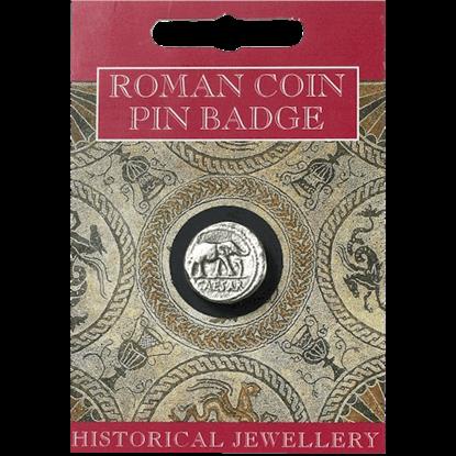 Caesar Coin Pin Badge