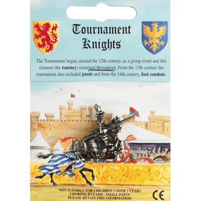 1520 Century Tournament Knight Figurine
