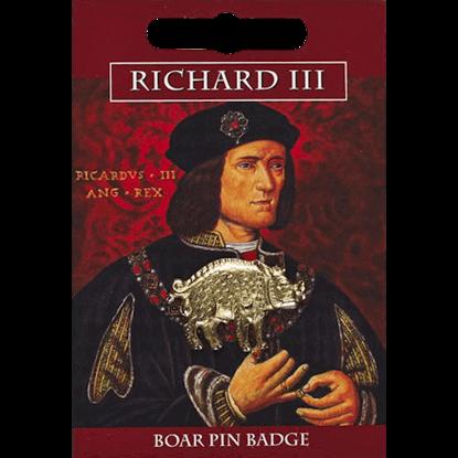 Golden Richard III Boar Pin Badge