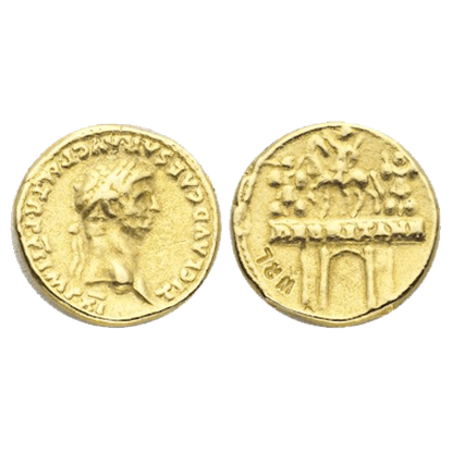 Aureus Of Claudius Replica Coins