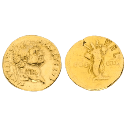 Aureus Of Domitian Replica Coins