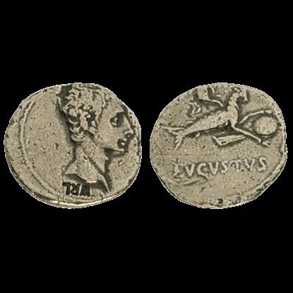 Denarius Of Augustus Replica Coins