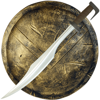 Spartan LARP Sword and Shield