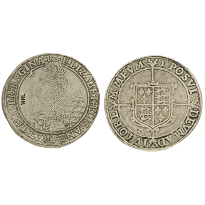 Elizabeth I Crown Replica Coin