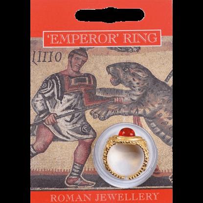 Gold Plated Emperor Gem Ring