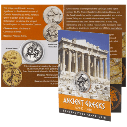 Corinth Greek Replica Coin Pack