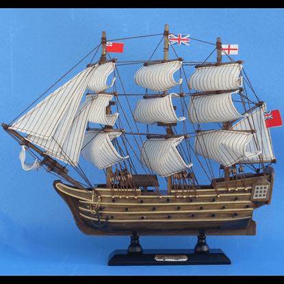 14 Inch HMS Victory Model Ship