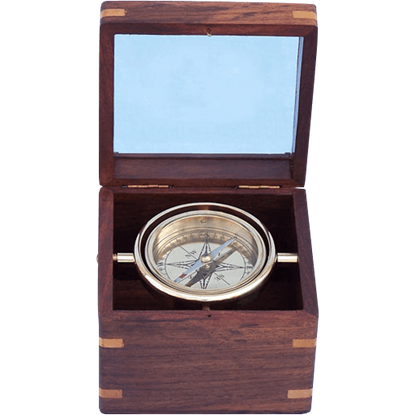Brass Lifeboat Compass