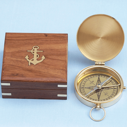 Brass Gentlemans Compass