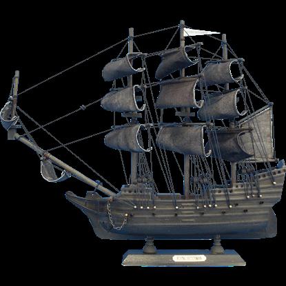 14-Inch Flying Dutchman Model Ship