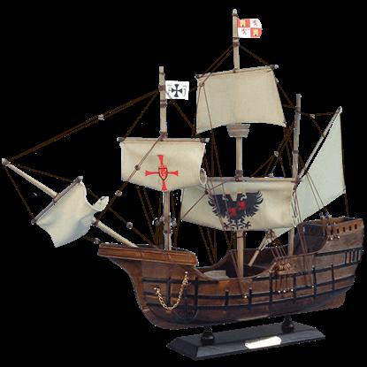 20 Inch Santa Maria Model Ship