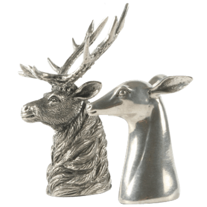 Buck and Doe Salt and Pepper Shakers