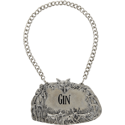 Morning Hunt Gin Decanter Tag