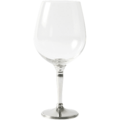 Classic Pewter Bordeaux Glass