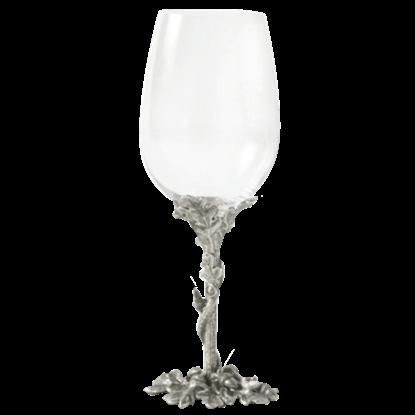 Acorn and Oak Leaf White Wine Glass