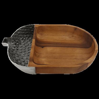 Acorn Chip and Dip Bowl